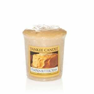 Yankee Candle Wrapped Votives Case Pack - Pumpkin Buttercream