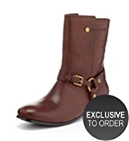 Autograph Leather Boots with Insolia Flex®