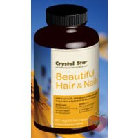 Crystal Star - Beautiful Hair & Nails - 60 Vegcaps