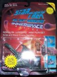 Star Trek The Next Generation Innerspace Series Romulan Warbird Mini Playset