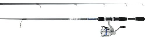 Daiwa D-Shock 170 Yards 8 Line 6 1/2-Feet Fibreglass Spin Combo (Medium)
