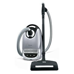 Miele Capricorn S5980 With Deluxe Power Brush (Luna Silver), MVS5980 SEB 236