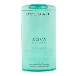 Aqva Marine Shampoo & Shower Gel 200 ml Gel Doccia Uomo