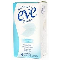 Summer's Eve Douche Extra Cleansing Vinegar & Water Cleanser 133 ml