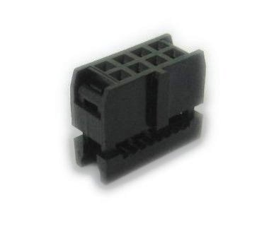 Pc Accessories Idc 2X4 8 Pins Dual Row Socket For Flat Ribbon Cable, 4-Pack