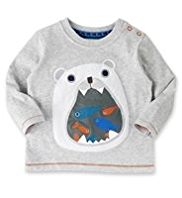 Pure Cotton Polar Bear T-Shirt