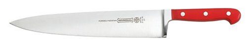 """Mundial 5100 Series 10"""" Chef's Knife, Red"""