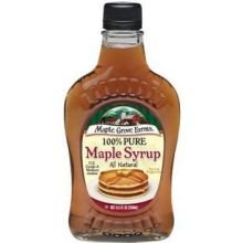 Maple Grove Farms Pure Medium Amber Maple Syrup, 8.5 Ounce -- 12 Per Case.