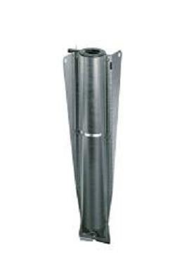 Brabantia Metal Soil Spear, 35mm, Black Plastic Cap