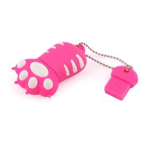 High Quality 8 GB Claw USB Flash drive (PINK) from T &  J