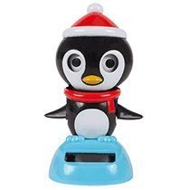 Solar Powered Dancing & Blinking Penguin - 1