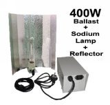 FoxHunter Quality Grow Tent Light Kits Set Includes 400W Ballast Sodium Lamp Reflector