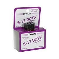 Twinlab B-12 Dots, 500 Mcg - 250 Per Pack -- 3 Packs Per Case.