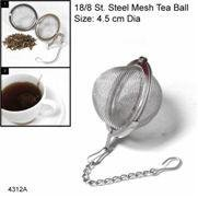 Tea strainer /Spicy Ball 4.5cm Dia s/s guarnteed quality