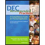 DEC Recommended Practices : A Comprehensive Guide for...