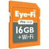 Eye-Fi - Pro X2 16GB Wi-Fi SDHC Class 10 Memory Card