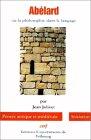 img - for Ab lard ou la Philosophie dans le langage book / textbook / text book