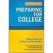Image: Cover of Preparing for College: Practical Advice for Students and Their Families