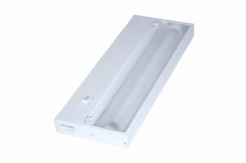 Juno Lighting UPF12-WH Pro-Series Fluorescent Under cabinet Fixture, 12-Inch, 2-Lamp (Designer White)