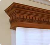 "Wood Cornices 46""x46"", Wood Cornices by Blinds.com"