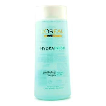 L'Oreal Dermo-Expertise Hydra Fresh Instant Freshness Toning Water (For Combination To Oily Skin) - 200ml/6.7oz by L'Oreal Paris