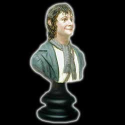 Picture of Sideshow Lord of the Rings Fellowship of the Ring Pippin Limited Edition Bust Figure (B000C9FJM8) (Sideshow Action Figures)