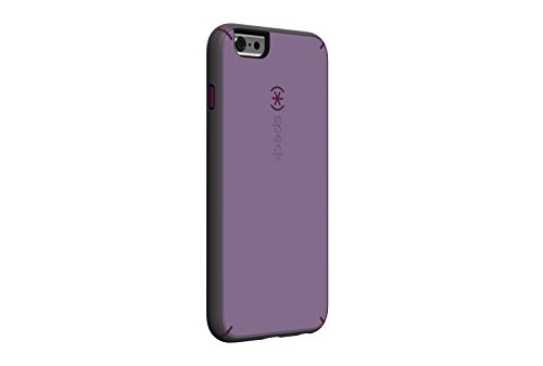 Speck Products Mighty Shell with Faceplate Case for iPhone 6 Plus  - Retail Packaging - Lilac Purple/Raisin Purple/Soot