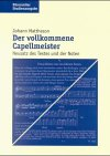 Der vollkommene Capellmeister: Neusat...