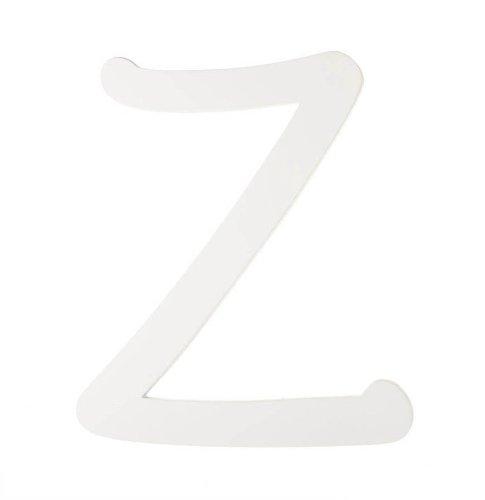 Darice 9188-Z White Wood Letters, Z, 9-Inch