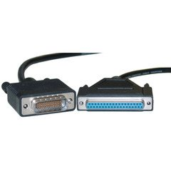 Dealsjungle Cisco Compatible Serial Cable, HD60 Male to DB37 Female, Equivalent to CAB-449FC-3M, 10 foot