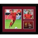GB eye 16 x 12-inch Liverpool Gerrard Retro Framed Photograph