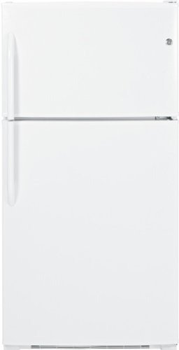 Ge Gth21Gceww 21.0 Cu. Ft. White Top Freezer Refrigerator - Energy Star front-95898