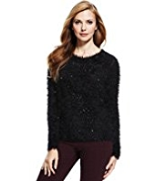 M&S Collection Sequin Embellished Jumper