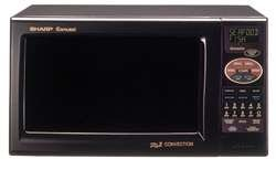 Convection Microwave Oven - 0.9 Cuft - Black - R820Bk
