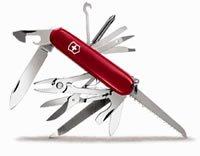 Victorinox Swiss Army Craftsman Pocket Knife Red