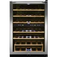 Frigidaire Ffwc38F6L 38 Bottle Two-Zone Wine Cooler With Two Temperature Zones, Stainless Steel