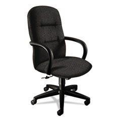 HON 3301BE11T Allure Executive High-Back Swivel and Tilt Chair, Raven Fabric