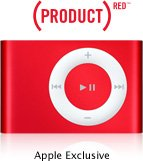 iPod Shuffle 2GB Red MP3 Player