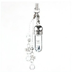 Gem Art (Gemalto) ampoule birth stone mobile strap 4-diamond.