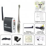 Wireless Dental Inter Oral HD Video Camera with Wireless Receiver Stand and 3.5mm to Video Cable New