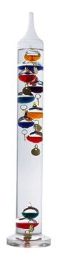 Ambient Weather WS-GA1141710 17 inch Galileo Thermometer