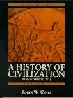 History of Civilization, A: Prehistory to 1715 (Vol. I) (0132283131) by Winks, Robin W.