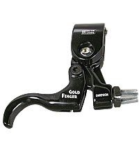 Buy Low Price ACTION BRAKE LEVER MX DIA TECH GOLD FINGER BLACK RIGHT (B001ANMFVS)