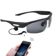 Bluetooth V3.0 Stereophonic Smart Sunglasses, Able to Answer Calls, Good Partner for Outdoor Activities(Black)