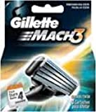 Gíllette Mach 3 Razor Refill Cartridges 16 Count