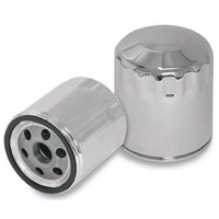 S&S Cycle Oil Filter - Chrome 31-4104