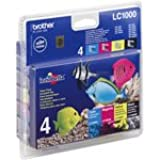 Brother LC-1000 Ink Cartridge (Value Pack)