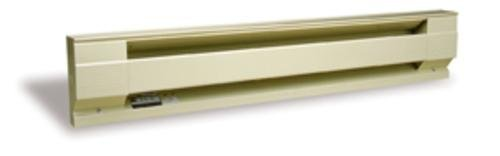 "Cadet Baseboard Convection Heater 3412 Btu 240 V/4.16 A Beige 48 "" 1000 W"