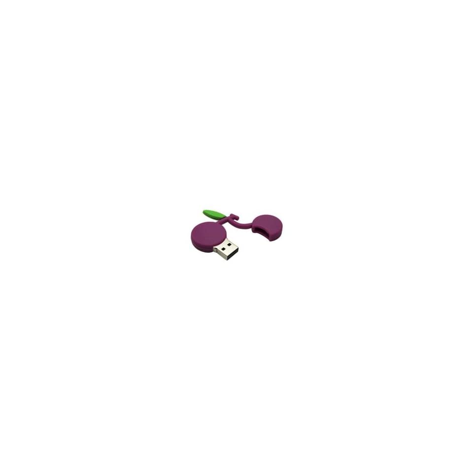 8GB Fruit Cartoon USB Flash Drive Purple