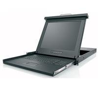 Belkin F1DC108H 19-Inch Rack Console Widescreen LCD with 8PORT KVM by Belkin Components